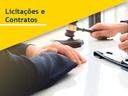 Banner Licitações e Contratos mobile