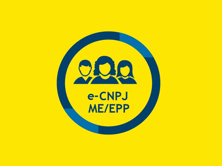 Ícone e-CNPJ ME-EPP