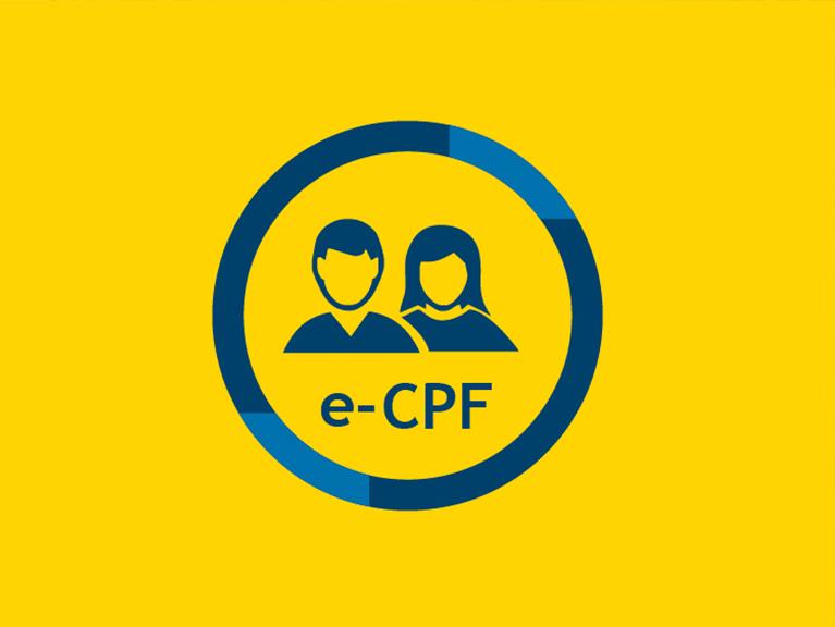 Ícone e-CPF