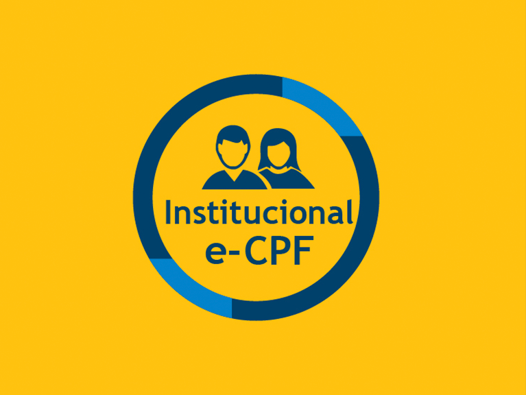 Ícone Institucional e-CPF