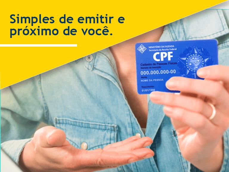 Imagem de um CPF