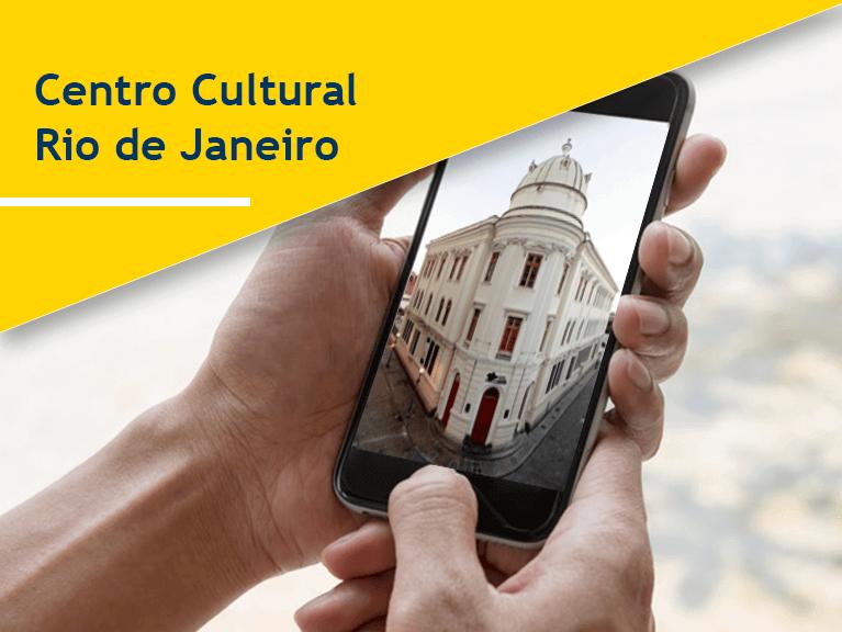 Banner Centro Cultural Rio de Janeiro - Mobile