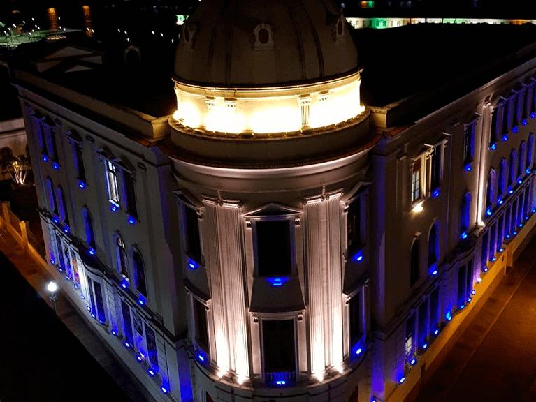 Foto da Fachada do Centro Cultural