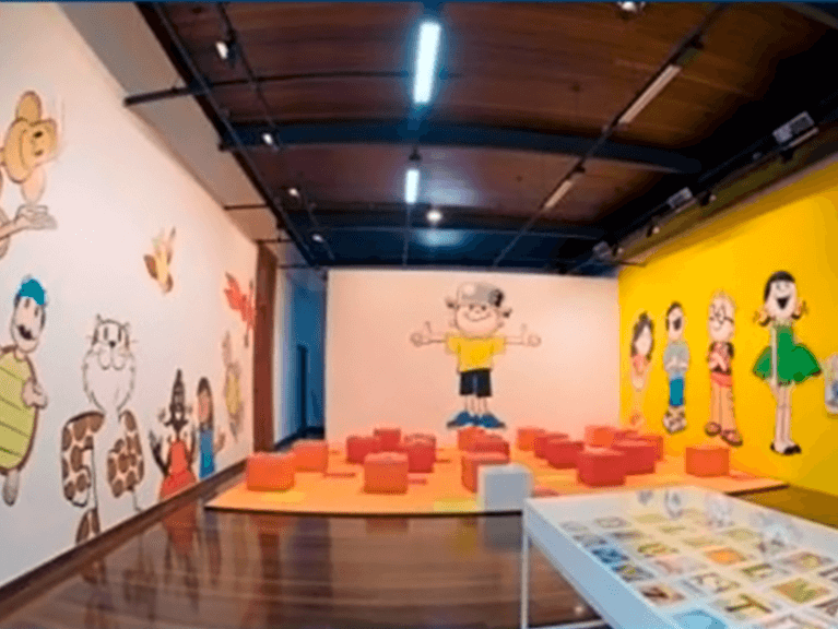 Foto do Salão de Exposição