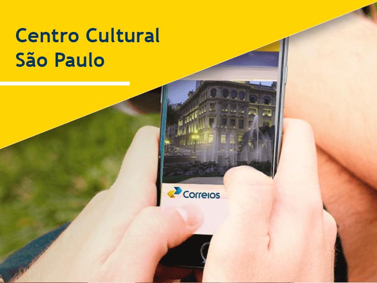 Banner Centro Cultural São Paulo - Mobile