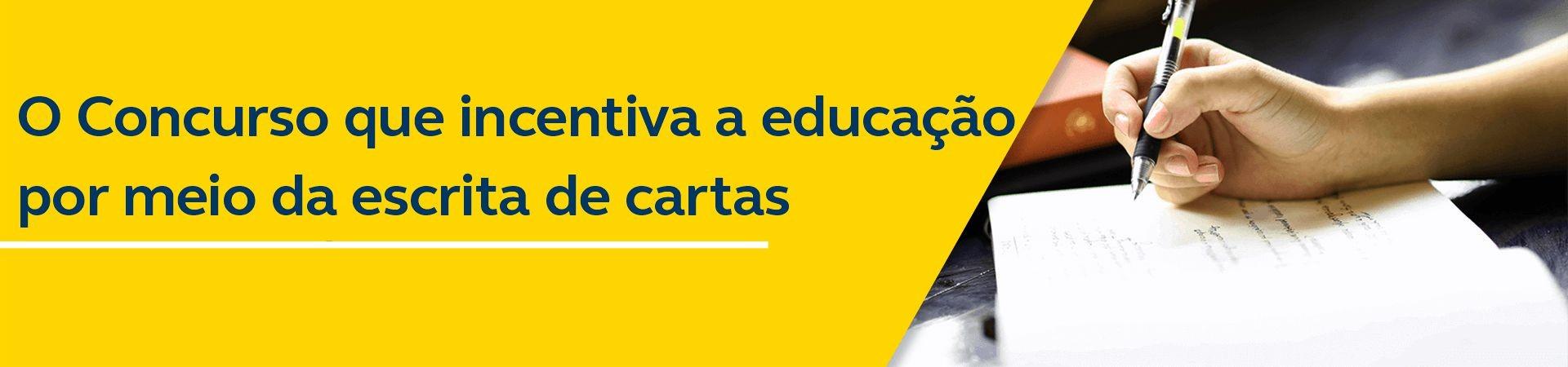 Banner Concurso Internacional de Cartas - Desktop