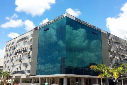 Foto da fachada dos Museu dos Correios