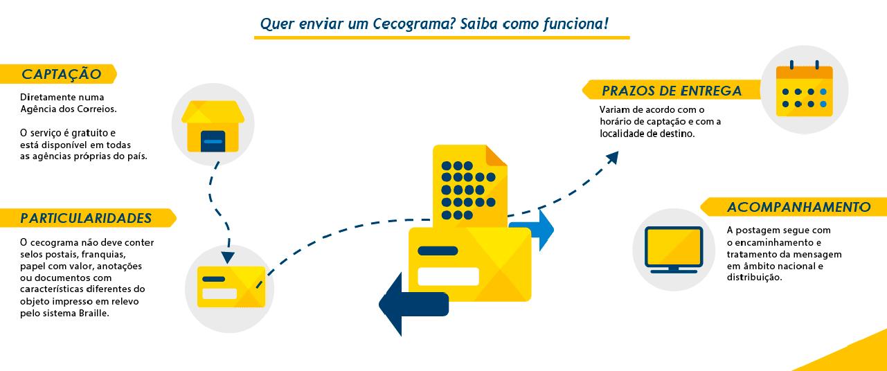 Infográfico passo a passo Cecograma - Desktop