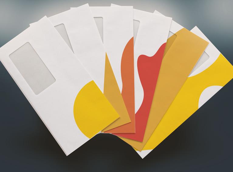 Envelopes personalizados dos Correios