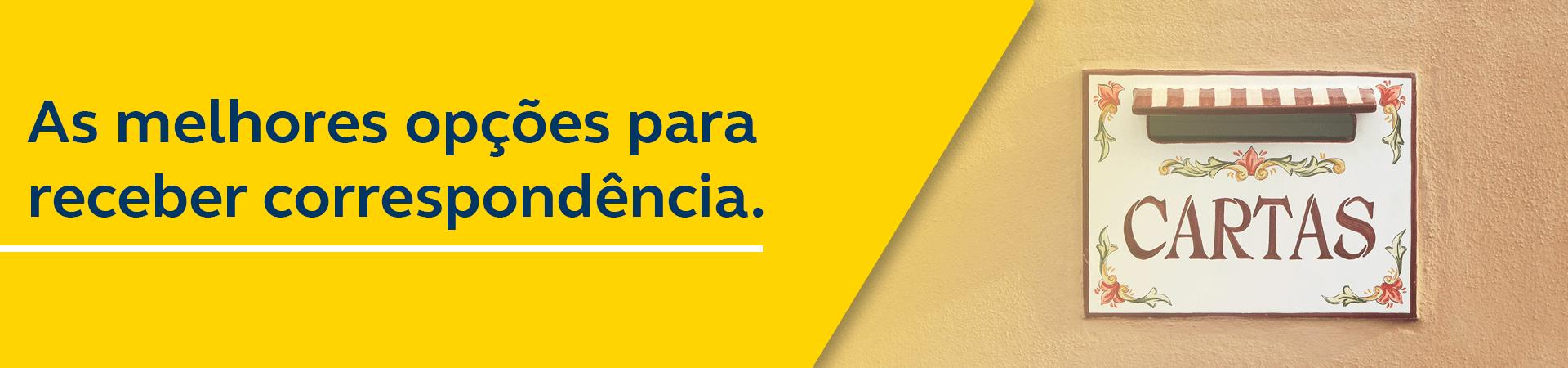 Banner Receber Correspondência Nacional