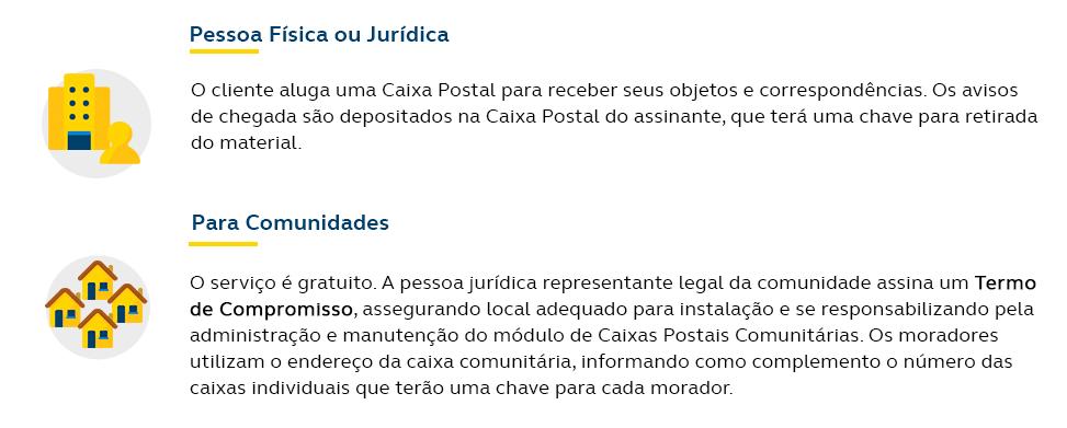 Caixa Postal Desktop