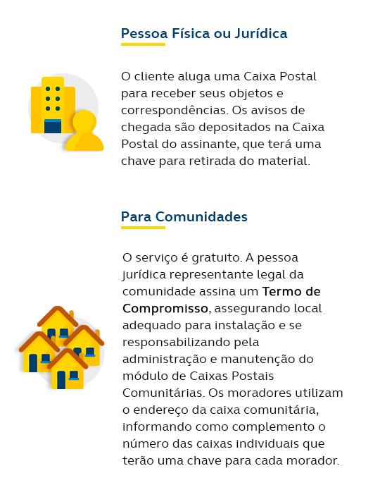 Caixa Postal mobile