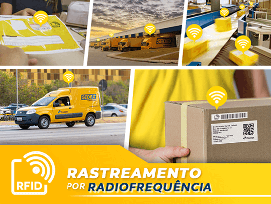 RFID - Rastreamento por Rádio Frequência